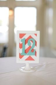 coral and turquoise wedding tables - Google Search
