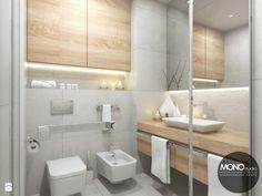 Jasna, rozświetlona łazienka - zdjęcie od MONOstudio - Łazienka - Styl Skandynawski - MONOstudio