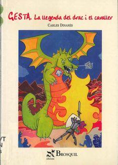 """Carles Dinarés. """"Gesta : la llegenda del drac i el cavaller"""". Editorial Brosquil. (10 a 12 anys). Està a la biblio. Comic Books, Comics, Cover, Art, Saint George, Libros, Art Background, Drawing Cartoons, Comic Book"""