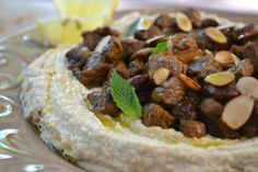Hummus with Spiced Lamb (Hummus bil Lahme) - The View from Great Island