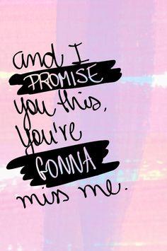 "Link to lyrics to ""Miss Me"""