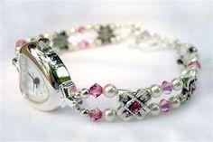 Beaded Jewelry Watch