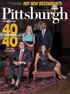 Pittsburgh Magazine November 2014 - 40 Under 40 #Pittsburgh #Professionals #40Under40