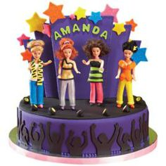 Turn any party into a palooza! Decorate a cake with a girl band formed from Mini Doll Picks refigured with fondant fashions; stage a grand finale by using our patterns and black fondant to create screaming-fans silhouettes.
