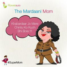 Nothing to fear when Momma is here!!! ‪#‎MothersDay‬ ‪#‎Floweraura‬ ‪#‎SuperMom‬