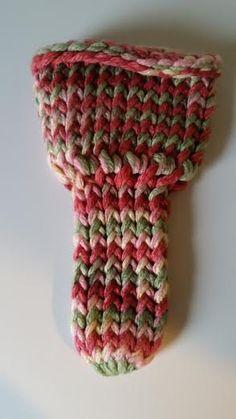Hand knitted underwear penis warmer jock sock L by LoomOfAFruit