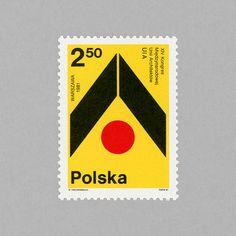 Intl Architects Union 14th Congress in Warsaw. Poland, 1981. Design: Wojciech Freudenreich
