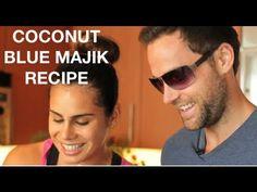 Coconut - Blue Majik Recipe  drew canole  https://www.facebook.com/VegetableJuicing