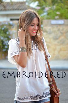 Mi aventura con la moda: EMBROIDERED
