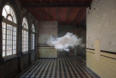 I want a cloud in my bedroom! Berndnaut Smilde Cloud Installations