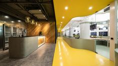 PRISM DESIGN were tasked with the DNA-inspired design for the unbot offices located in Shanghai, China. Unbot, a web marketing business specializing in Design Ppt, Your Design, Office Interior Design, Office Interiors, Nippon Paint, Cove Lighting, Office Environment, Co Working, Glass Company
