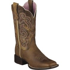 10006304 Womens Quickdraw Western Ariat Boots