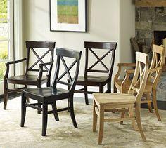 Aaron Wood Seat Chair #potterybarn