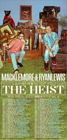 Macklemore and Ryan Lewis @Dana OH LAWD!!  BOSTON HOUSE OF BLUEEEESSSS, BOO!