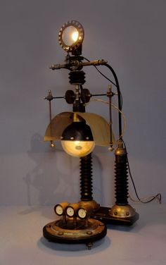 Steampunk Weather Station by Art Donovan