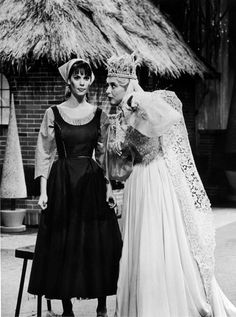 """Lesley Ann Warren and Celeste Holm """"Cinderella"""" (1965). When I went through my ballerina stage, I wanted to be just like Lesley Ann Warren!"""