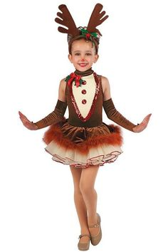 christmas costumes ideas Found o - christmascostumes Costume Halloween, Reindeer Costume, Cute Costumes, Christmas Costumes, Costume Ideas, Christmas Tutu, Girls Christmas Dresses, Girls Dresses, Ballet Costumes