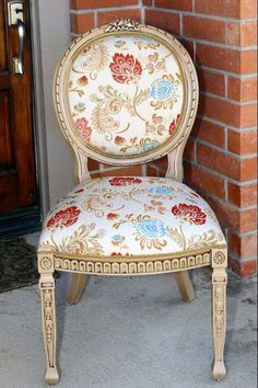 DIY French Rounded Back Chairs Makeover