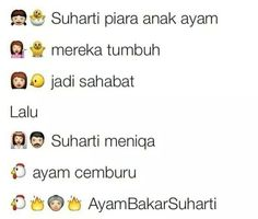 Asal kata ayam bakar Suharti :))