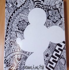imagenes de zentangle art facil - Buscar con Google | anna ...