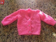 A miña primeira chaqueta para bebé / Mi primera chaqueta para bebé