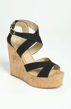 BP. 'Erika' Wedge Sandal available at #Nordstrom