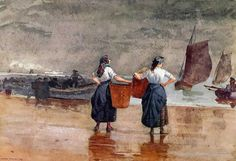 In March 1881, Winslow Homer, already well established as one of the foremost American artists of his time, travelled to England in search of new subjects for his brush. He found his way to the small, remote, wind-swept fishing village of Cullercoats in Northumberland on the North East coast where he lived for a year and a half, making numerous sketches, drawings, watercolours and oil paintings. He was ten miles from the large city of Newcastle upon Tyne, and about two miles from the…