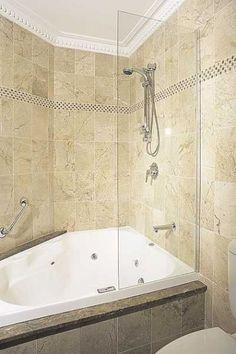 Whirlpool Steam Shower. Bathroom Design