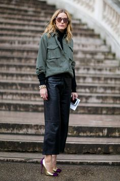 Pin for Later: See the Best Street Style From All of Paris Fashion Week Day 7 Olivia Palermo