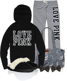 """I Only Sleep in PINK"" by qtpiekelso on Polyvore"