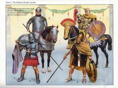 Seleucid cavalry and a mercenary infantryman History of Macedonia the ancient Kingdom of Greece.