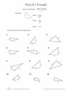 printable area of parallelogram worksheet teacher stuff pinterest worksheets. Black Bedroom Furniture Sets. Home Design Ideas