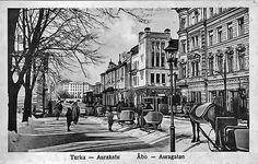 Turku - Åbo - Auragatan