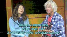 Sirenen-Sirenade von und mit ZartCore-Duo Aurelia&Max