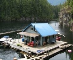 Float Cabin Living -- really living on the water . . .