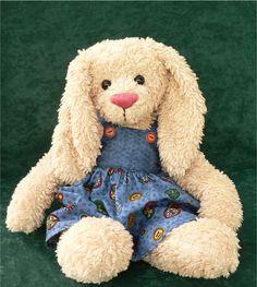 Teddy Bear Rabbit PDF Sewing Pattern  Rowena by megbear99 on Etsy, $4.00