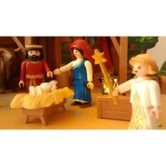 ¡Se armó el Belén! #belén #navidad #playmobil # christmas