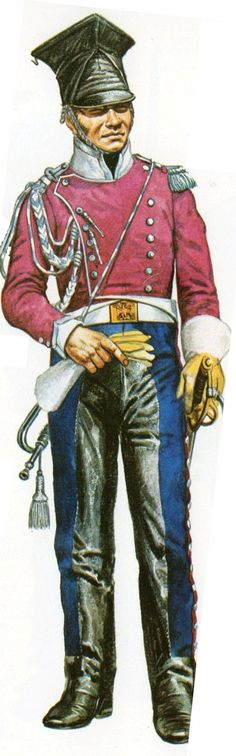 Trumpeter, Light Cavalry Regiment (lancers) of the Imperial Guard, Spain Military Art, Military History, Battle Of Waterloo, Napoleonic Wars, Warfare, First World, Army, Collection, Illustration