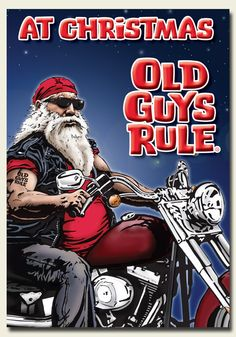 Yes, it's that time of the year already. www.BikersDen.com carries the best gifts for that special biker on your list.