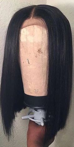 Beautiful long straight bob wigs for black women lace front wigs human hair wigs black friday 2018 cyber monday 2018 Wig Styles, Curly Hair Styles, Natural Hair Styles, Weave Styles, Diy Hairstyles, Straight Hairstyles, Black Hairstyles, American Hairstyles, Popular Hairstyles