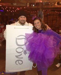 ade7d9619e432b Loofah and Dove Soap Costume Fasching, Hausgemachtes Halloween Kostüme,  Halloween Selber Machen, Halloween