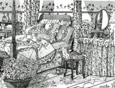 Coloring Pages Quotes For Adults : Coloring for adults kleuren voor volwassenen fantasy lady