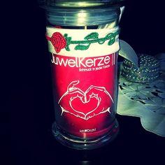 Ich Liebe Dich JuwelKerze by cannavara  #juwelkerze #jewelcandle #kerze #candle #schmuck #fashion #ring #ohrringe #anhaenger #geschenk #ueberraschung #surprise #gift #present #geschenk #liebe #love #heart #herz #women #maedel #frauen