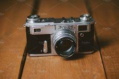 Old camera Photos Old retro camera. by Pawel Kadysz Photo Social Media, Technology Photos, Vintage Cameras, Old Cameras, Retro Camera, Fujifilm Instax Mini, Wooden Camera, Names, Videos