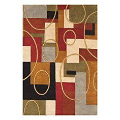 Alliyah Handmade Multi-Color New Zealand Blend Wool Rug (9' x 12')