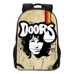 VEEVANV Doors Band Women Backpack Student College School Bags For Girls Backpack Men Rucksack Mochila Laptop Bag Daily Backpack