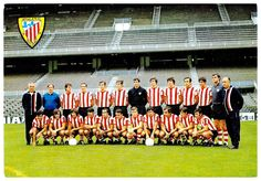 Equipos de fútbol: ATHLETIC CLUB DE BILBAO 1972-73 Plantilla (2) San Mamés, Athletic Clubs, No Equipment Workout, Spanish, Nostalgia, Football, Exercise, Fitness, Group