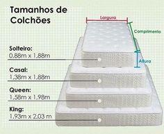 regram @arqjoycemaron E quanto aos tamanhos dos colchões?!  Olhem aí para não esquecerem! ☺️ #project #boasideias #interiordesign #design #designdeinteriores #arquitetura #architecture #arquiteturadeinteriores #medidas #home #room