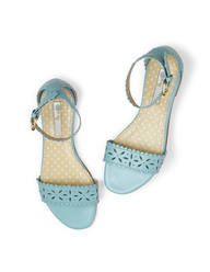 Boden Flora Sandals- finally on sale! Floral Sandals, Strappy Sandals, Shoes Sandals, Floral Print Shoes, Shoe Boots, Shoe Bag, Party Shoes, Leather Boots, Flip Flops