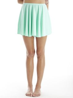 skirt in mint #reyswimewar #swimskirt #modestswimsuit #swimdress #mintswimsuit